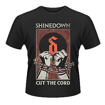 Shinedown leikkaa johto uhka selviytymisen virallinen T-paita
