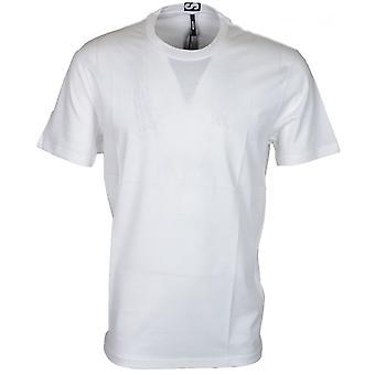 Versace Versus Bu90432 Plain White Extra Long T-shirt