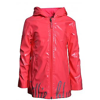 Girl's Billieblush Girls Billieblush Fuschia Logo Raincoat