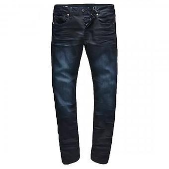 G-Star Raw Revend 3301 Slim Slander Indigo Denim Jeans 51001 5245 89