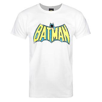 Red Label Batman Retro Logo Men's T-Shirt