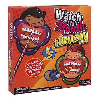 Watch Ya Mouth, Throwdown Edition