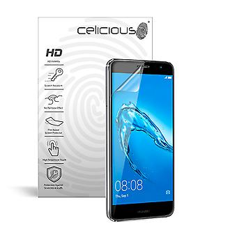 Celicious Vivid Invisible Glossy HD Screen Protector Film Compatible with Huawei Nova [Pack of 2]