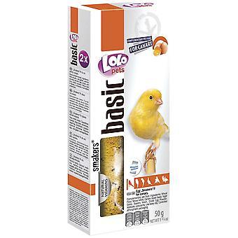 Lolo Lolo 2 Barritas Huevos 50 Gs Canarios (Birds , Bird Treats)