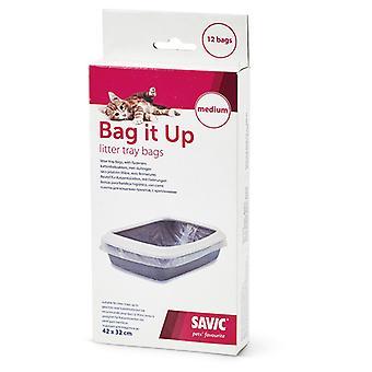 Savic Bolsas Higienicas Hop In para Gatos 6 Unidades