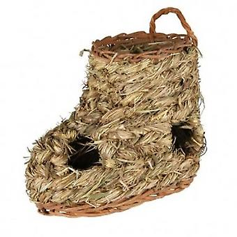 Trixie Boot Grass Nest (Small pets , Cage Accessories , Maisonnettes et Tunnels)