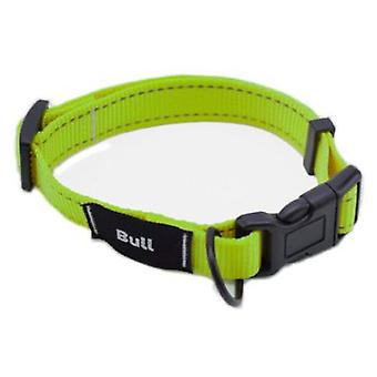 Bull Collar Fluor Verde T-2 28-45 X1,5 Cm (Dogs , Collars, Leads and Harnesses , Collars)