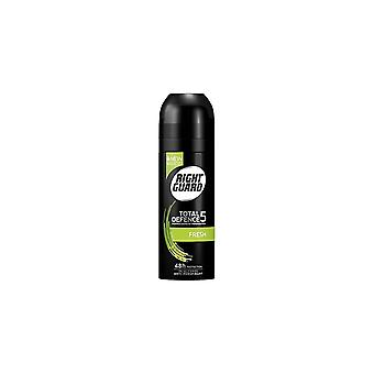 Right Guard Total Defence 5 Fresh 48 Hour Deodorant For Him