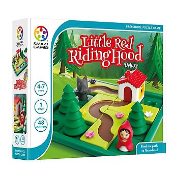 SmartGames Little Red Riding Hood Deluxe Preschool Puzzle With Picture Book