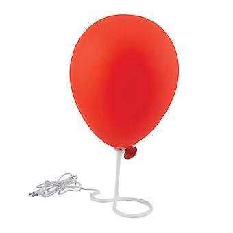 Pennywise Balloon Lámpara BDP Home Office Dormitorio Bedside Stephen King IT Horror