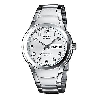 Casio Analog quartz men with stainless steel strap MTP-1229D-7A