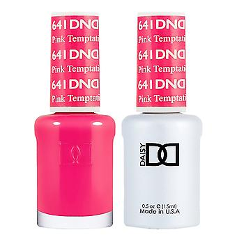 DND Duo Gel & Nail Polish Set - Pink Temptation 641 - 2x15ml