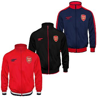 Arsenal FC Official Football Gift Boys Retro Track Top Jacket