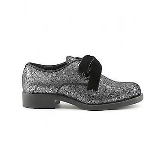 Tillverkad i Italia - Skor - Snörning skor - ANITA-NERO - damer - svart, silver - 40