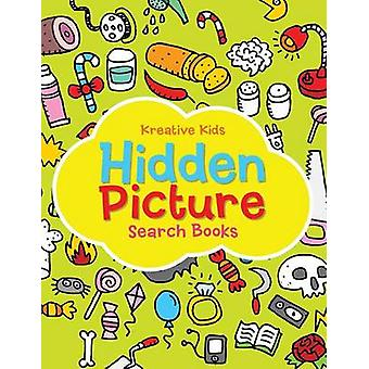 Hidden Picture Search Books by Kreative Kids