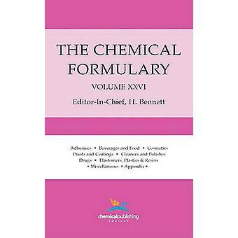 The Chemical Formulary Volume 26 by Bennett & H.