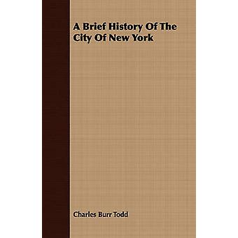 A Brief History Of The City Of New York by Todd & Charles Burr