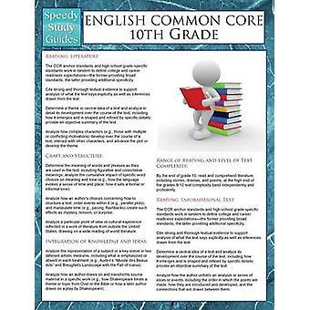 English Common Core 10th Grade Speedy Study Guides by Publishing LLC & Speedy