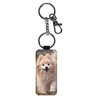 Hund Pommersche Schlüsselanhänger