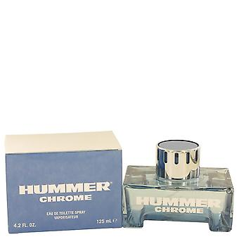Hummer Chrome by Hummer Eau De Toilette Spray 4.2 oz / 125 ml (Men)