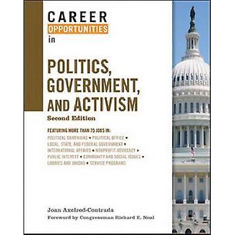 Karriärmöjligheter inom politik - Regeringen och aktivism av Joan Ax