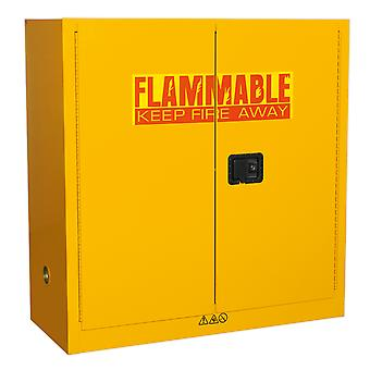 Sealey Fsc09 Flammables Storage Cabinet 1095 X 460 X 1120Mm