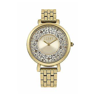 Lipsy LP397 Ladies Gold Stainless Steel and Dial Watch - Gold