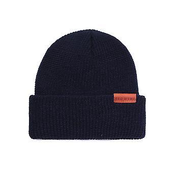 Red Wing Merino Wool Navy Beanie Hat
