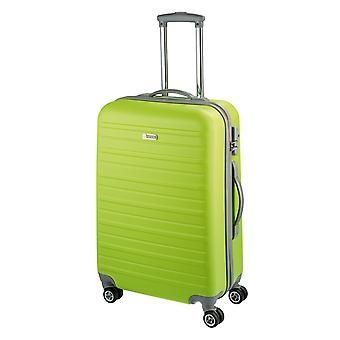 d&n Travel Line 9400 Trolley M, 4 wielen, 66 cm, 63 L, groen