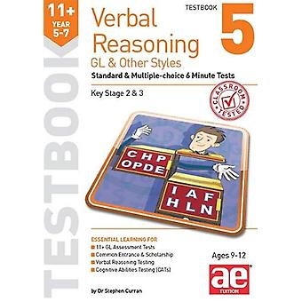 11+ Verbal Reasoning Year 5-7 GL & Other Styles Testbook 5 - Stand