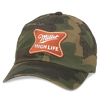 Miller High Life Patch Green Camo Hat