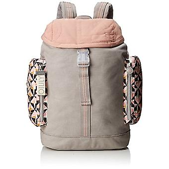 Oilily Whoopy Geometrical Backpack Lvz - Women's Pink Backpack Bags (Rose) 15x40x28 cm (B x H T)