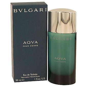 Aqua Pour Homme Eau De Toilette Spray By Bvlgari 1 oz Eau De Toilette Spray