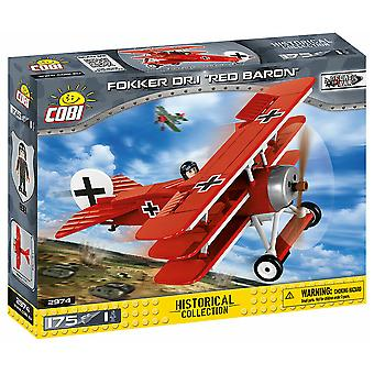 Great War 175 piece Fokker Dr.1 Red Baron
