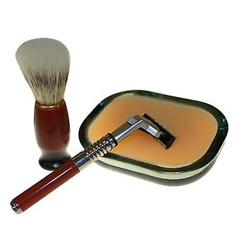 Old School Shaving Kit - Sage Patchouli and Orange