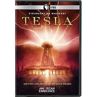 American kokemus: Tesla [DVD] Yhdysvallat tuoda