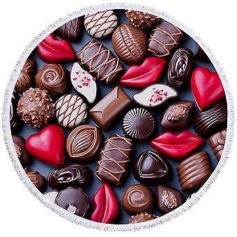 الشوكولاته بونبونس بيتش منشفة