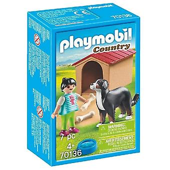 Playmobil 70136 Country Dog met Doghouse