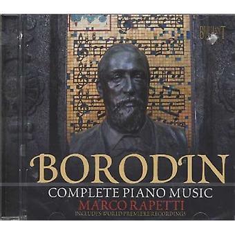 A. Borodin - Borodin: Complete Piano Music [CD] USA import