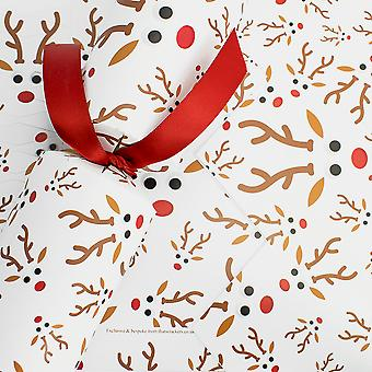 Único Googly Rudolph Basic Christmas Cracker - Make & Fill Your Own Kit
