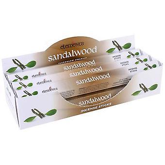 Something Different Elements Incense Stick 6 Pack Display Set Sandalwood