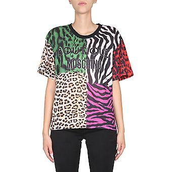 Boutique Moschino 120558401888 Dames's Multicolor Katoen T-shirt