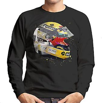Motorsport Images Ayrton Senna Japanese Grand Prix 1993 Men's Sweatshirt