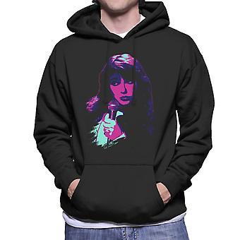 TV Times Kate Bush Utför 1978 Pop Art Stilised Män & apos; s Hooded Sweatshirt