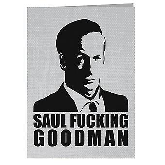 Saul Fucking Goodman Breaking Bad Greeting Card