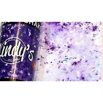 Lindy's Frimærkebande Polka Lilla Magisk Shaker
