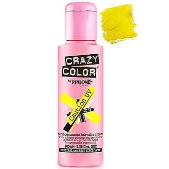 Crazy Color Caution UV Semi-Permanent Hair Dye