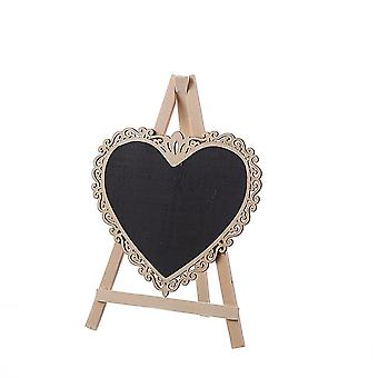 Mini Stand Blackboard with Easel Small Openwork Lace