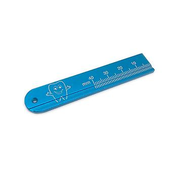 High Quality Aluminium Dental Endo Rulers - Span Measure Scale  Endodontic Finger Rulers Dentist Tool