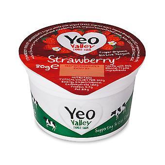 Yeo Valley Organic Strawberry Yogurts